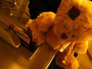 Friedrich dans le métro