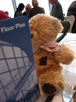 Friedrich déchiffre le floor plan du Moma