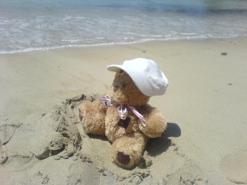 friedrich dans le sable