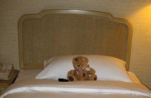 friedrich squatte le lit