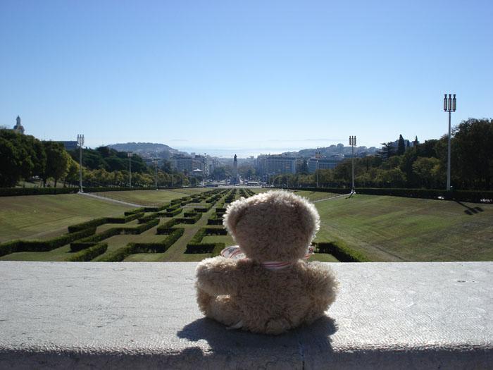 Friedrich au parc Edouardo VII