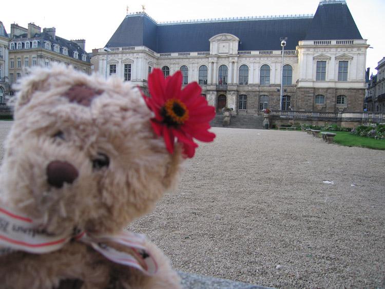 Friedrich devant le parlement 2