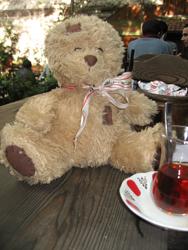Friedrich déguste du çay
