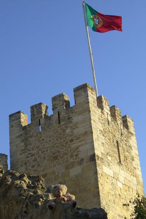 friedrich au castelo de sao jorge