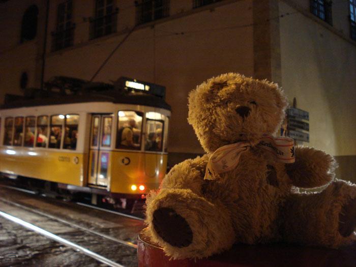 friedrich devant le tramway