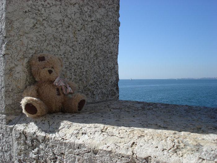 friedrich sur la tour de Belém