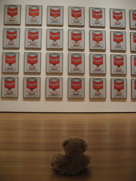 Friedrich vs. Warhol